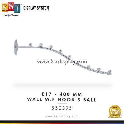 E17-(400-690MM) WALL W.F HOOK S BALL